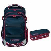 Neoxx Active Schulrucksack-Set 2tlg. My Heart Blooms
