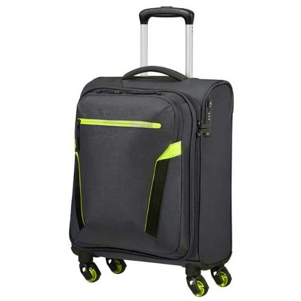 American Tourister At Eco Spin Trolley S Atlas Grey