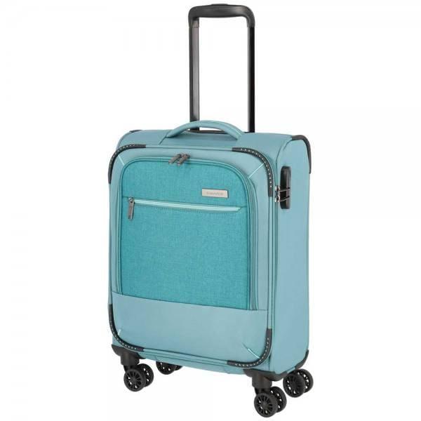 Travelite Arona 4-Rollen Trolley S 55 cm Aqua