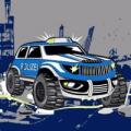 Big Foot Polizei