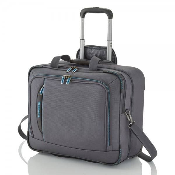 Travelite Crosslite Businesswheeler 47 cm Anthrazit