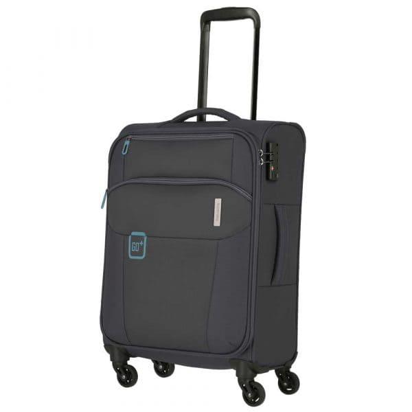 Travelite Go 4-Rollen Trolley L 77 cm Anthrazit