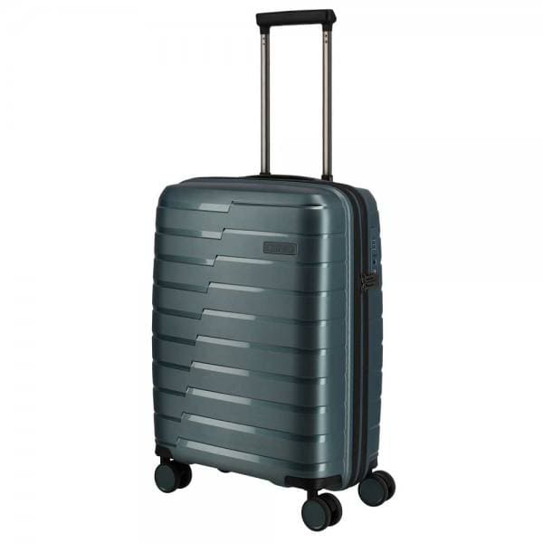 Travelite Air Base 4-Rollen Trolley S 55 cm Eisblau
