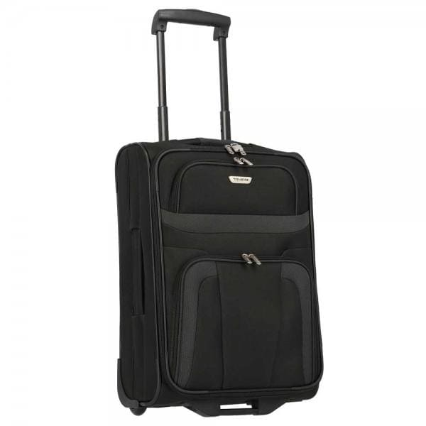 Travelite Orlando 2-Rollen Bordtrolley S 53 cm Schwarz