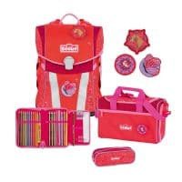 Scout Sunny Funny Snaps Schulranzen-Set 4tlg Country
