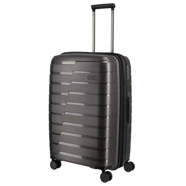 Travelite Air Base 4-Rollen Trolley M 67 cm Anthrazit
