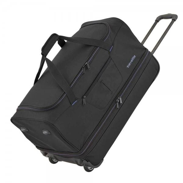 Travelite Basics Trolley Reisetasche S 55 cm Schwarz