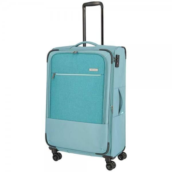 Travelite Arona 4-Rollen Trolley L 77 cm Aqua