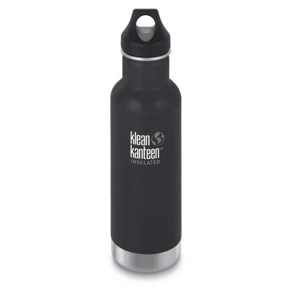 Klean Kanteen Classic Vakuumisoliert Trinkflasche 592ml Shale Black