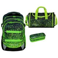 Neoxx Active Schulrucksack-Set 3tlg. Pixel in my mind