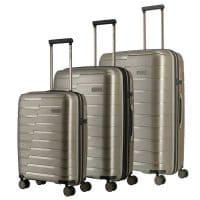 Travelite Air Base Trolley-Set 3tlg S-M-L Champagner