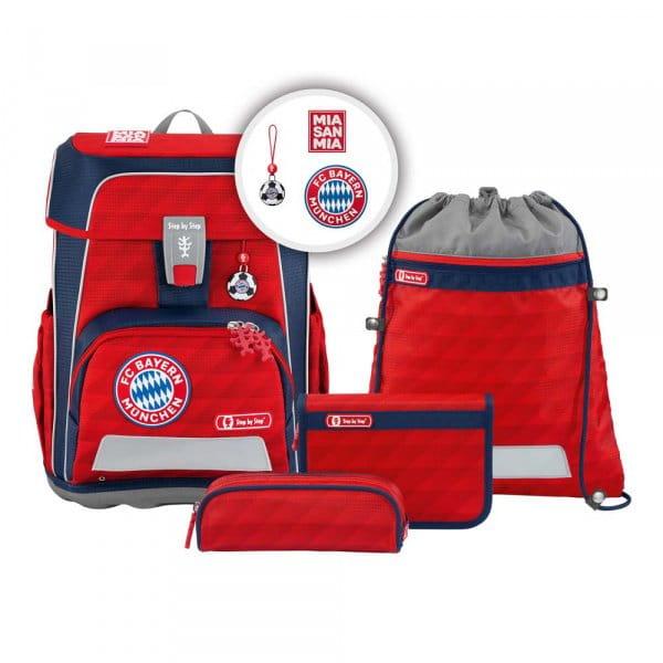 Step by Step CLOUD FC Bayern Schulranzen-Set 5tlg Mia san Mia