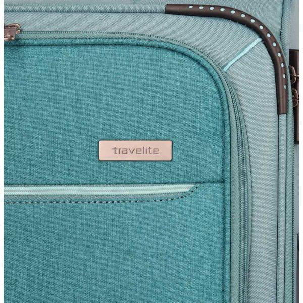 Travelite Arona 4-Rollen Trolley L 77 cm Aqua Zusatzbild-7