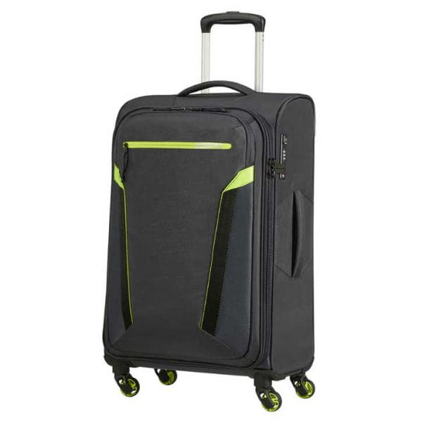 American Tourister At Eco Spin Trolley M Atlas Grey
