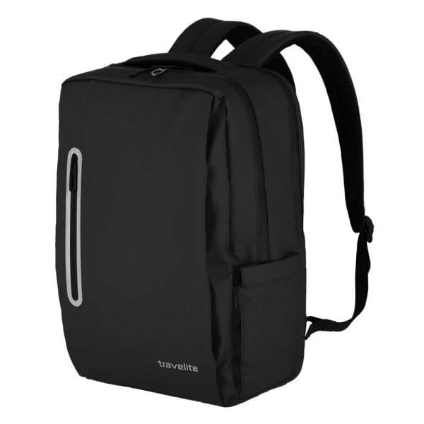 Travelite Basics Boxy Rucksack Schwarz