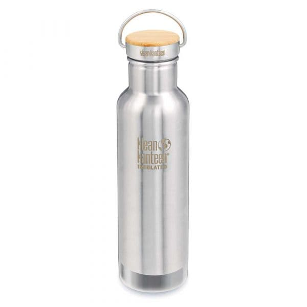 Klean Kanteen Reflect Vakuumisoliert Trinkflasche 592ml Brushed Stainless