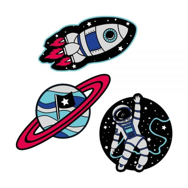 Scout Funny Snaps Set 3tlg Galaxy