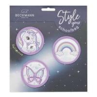 Beckmann Button Paket Pink