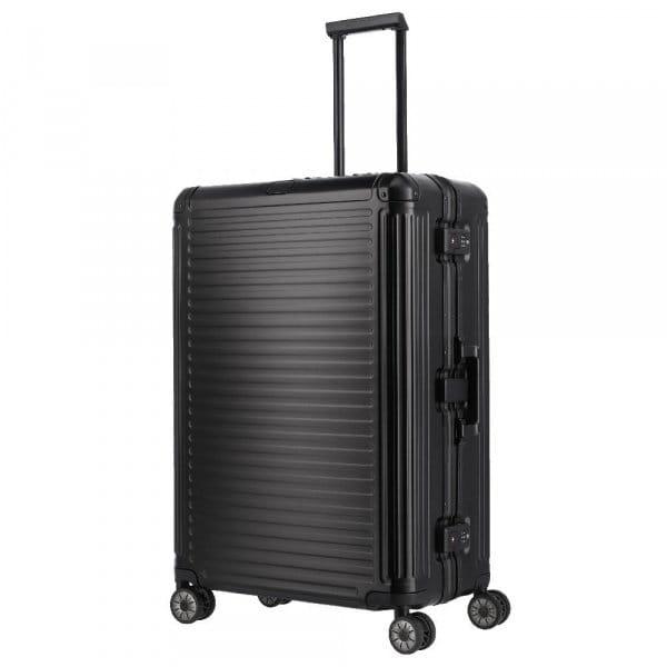 Travelite Next 4-Rollen Trolley L 77 cm Schwarz