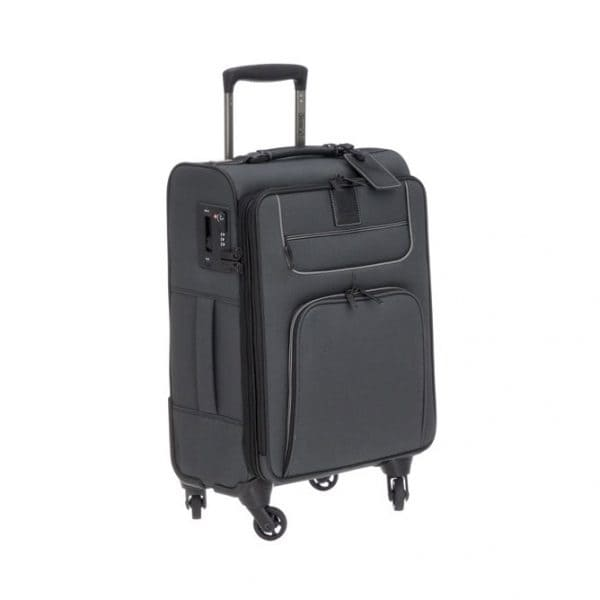 Stratic Go First-Stop Later 4-Rollen Trolley S 55 cm Black