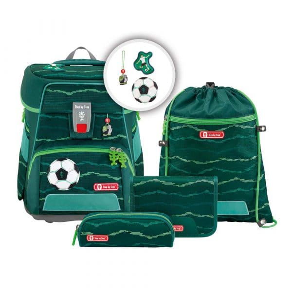 Step by Step e-SPACE Schulranzen-Set 5tlg Soccer Star