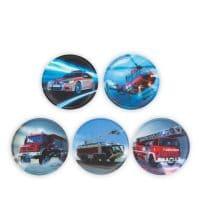 Ergobag Klettie-Set 5tlg Feuerwehr