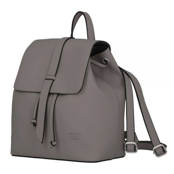 BARBARA & TITAN Pure Backpack Grey