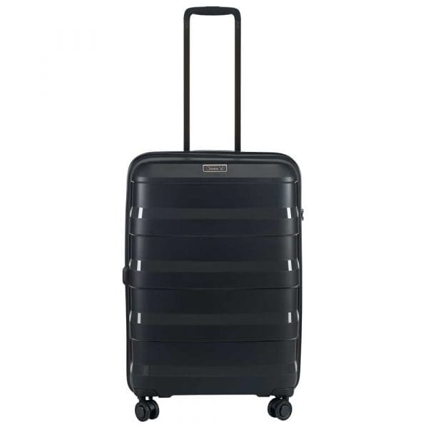 Stratic Straw 4-Rollen Trolley M 66 cm Black