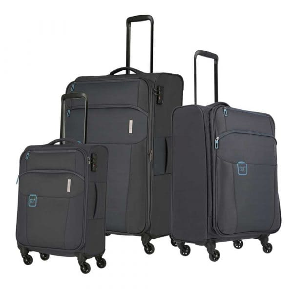 Travelite Go Trolley-Set 3tlg S-M-L Anthrazit