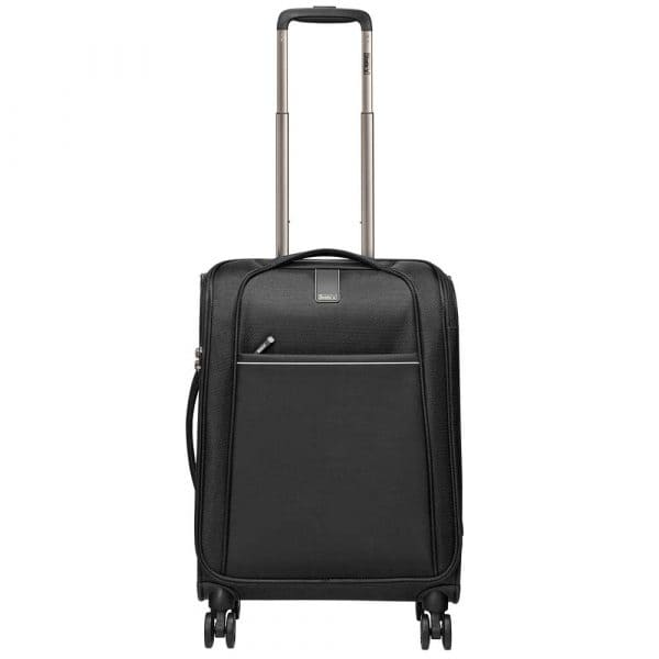Stratic Unbeatable IV 4-Rollen Trolley S 56 cm Black